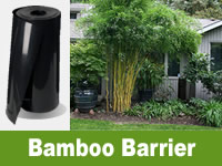 Bamboo Root Barrier