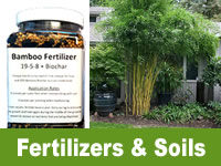Bamboo Fertilizers & Soils