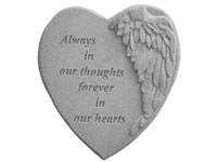 Garden Stone - Always in our thoughts....