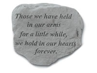 Garden Stone - Those we have held...