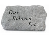 Garden Stone - Our Beloved Pet