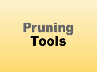 Tools - Pruning