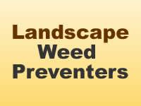 Weed Preventers - Landscape