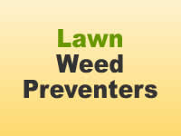 Weed Preventers - Lawn